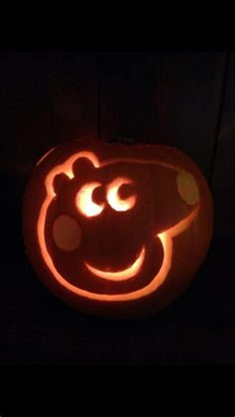peppa pig pumpkin stencil halloween pinterest