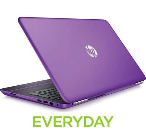 hp laptop with hp pavilion 15 au070sa 15 6 quot laptop purple office