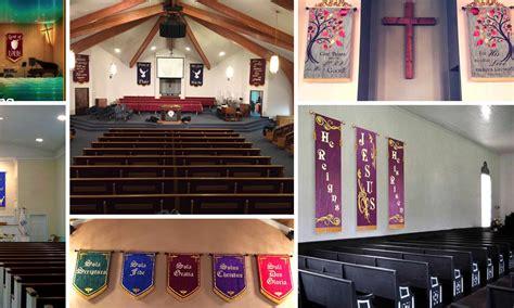 Wedding Banner For Church by Church Wedding Banners Decorate Church Weddings With Banners