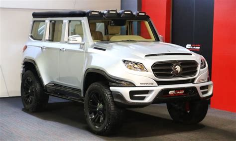 Hummer Ares Build Up ares x raid is a coachbuilt mercedes g63 amg