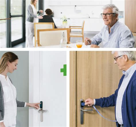 assa abloy offers key to care home security care home