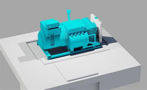 emergency generator leroy turbinewith cummins diesel