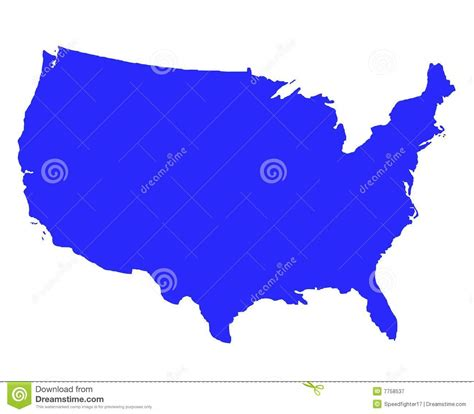 free stock images us map united states of america outline map royalty free stock
