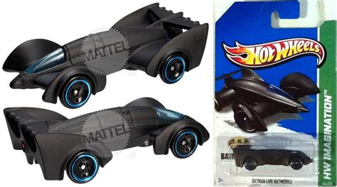 Hot Wheels Batman Live Batmobile 2013 Imagination Lacrado