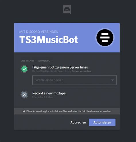 discord bot music ts3musicbot music for teamspeak and discord server
