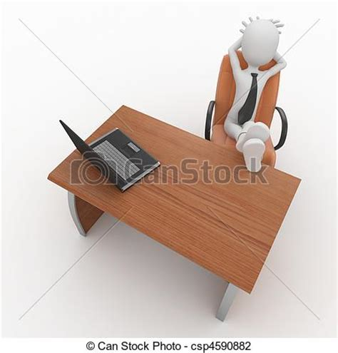 capo ufficio clipart di capo 3d ufficio uomo 3d uomo capo a