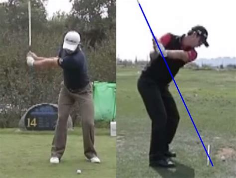 half golf swing justin rose golf swing analysis consistentgolf com