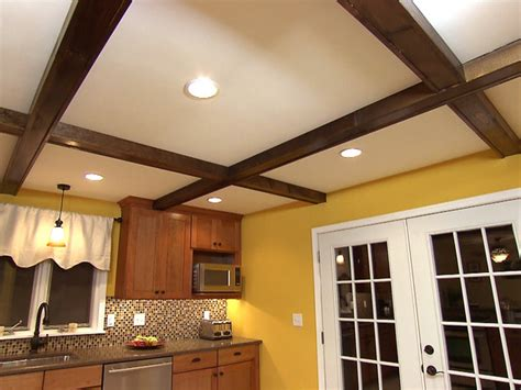 Diy Wood Beam Ceiling by How To Install Faux Ceiling Beams How Tos Diy