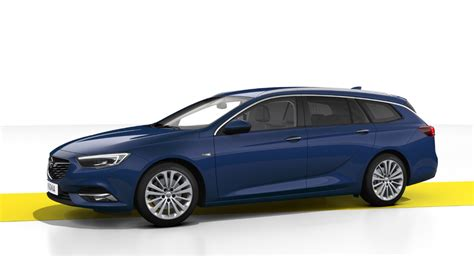 opel blue opel insignia sports tourer 2018 couleurs colors
