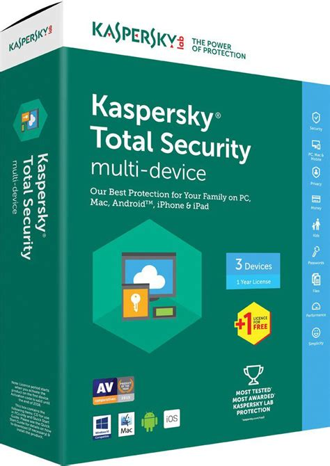 Lisensi Kaspersky Total Security 2017 1pc Devices 1 Tahun Original kaspersky total security 2017 box pack 4 user buy in south africa takealot