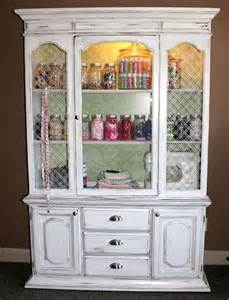 Shabby Chic China Hutch How Many Different Ways Can You Use A Piece