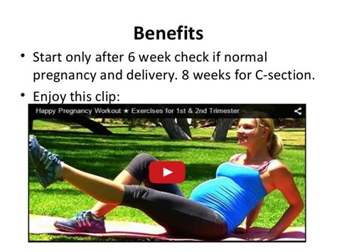 when can i start yoga after c section 5 pregnant exercises for two you and baby ppt