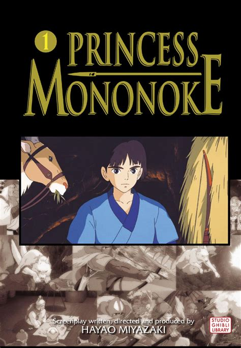 princess mononoke picture book books princess mononoke comic vol 1 book by hayao
