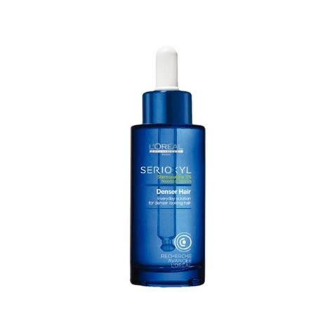 Loreal Serioxyl Thicker Denser l oreal professional serioxyl denser hair treatment serum
