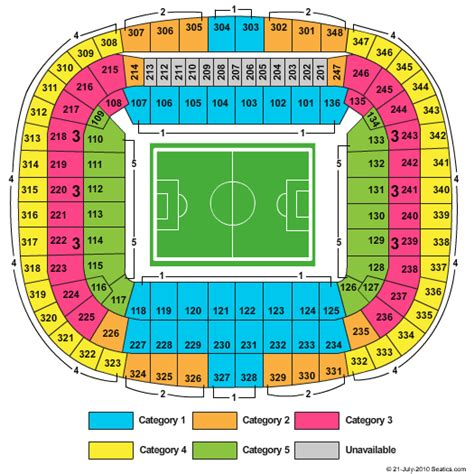Allianz Arena Away Section by Allianz Arena Seating Chart