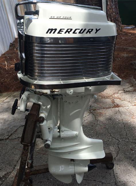 mercury   hp outboard vintage motor  sale