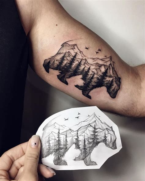 bear track tattoo designs best 25 mens tattoos ideas on tribal tattoos