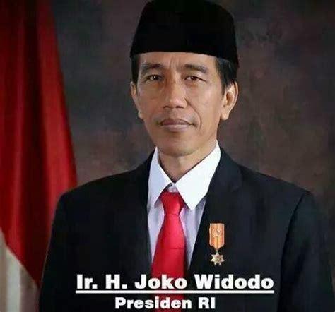 biodata jokowi dodo biodata jokowi dodo presiden ri foto foto presiden wakil