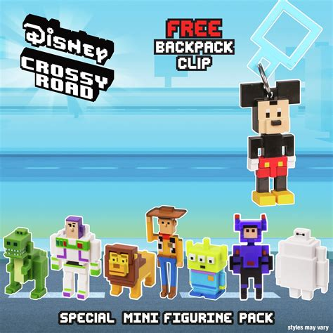Disney Mini Figur Crossy Road disney crossy road mini figures 7 pack times uk 163 4 99