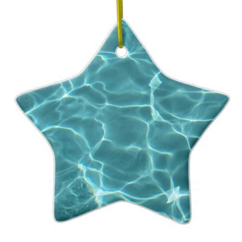 swimming pool ornaments zazzle