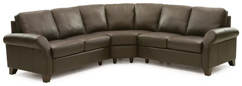 Sectional Sofa Ottawa Palliser Ottawa Transitional 3 Sectional Sofa With Sock Arms And Wood Dunk Bright