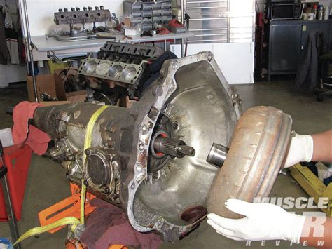 removing 2004 ford mustang transmission haynes project 50 driveline rebuild hot rod network