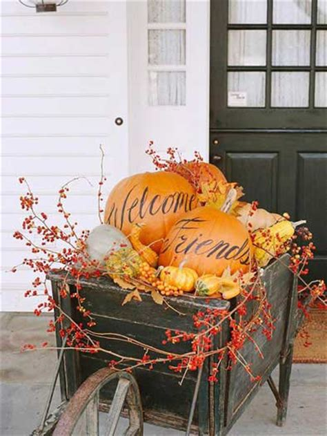 21 creative thanksgiving outdoor decoration ideas