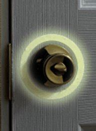 glow in the door knob ring carolwrightgifts