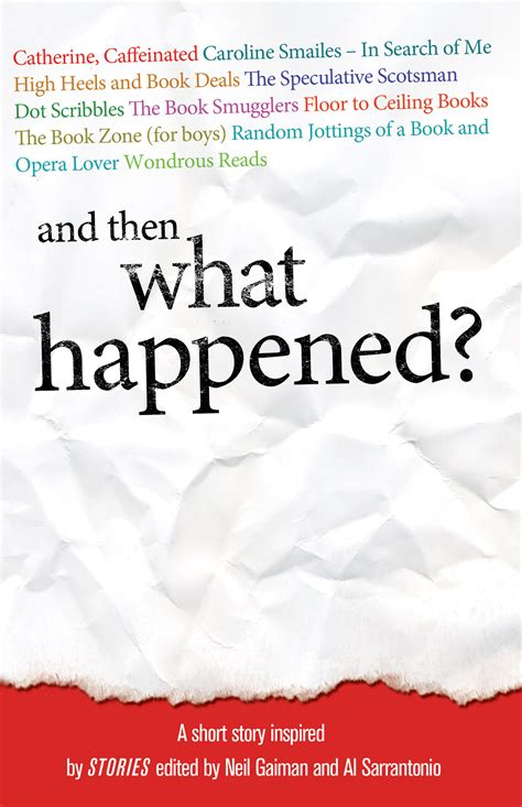 what happened to and then what happened the book smugglersthe book