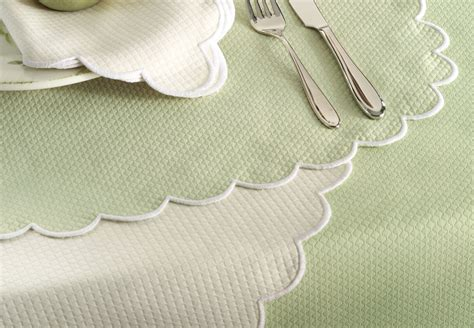 silence cloth table pad matouk gardens table linens