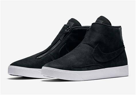 nike zipper sneakers nike blazer advanced zippered 859200 001 sneakernews