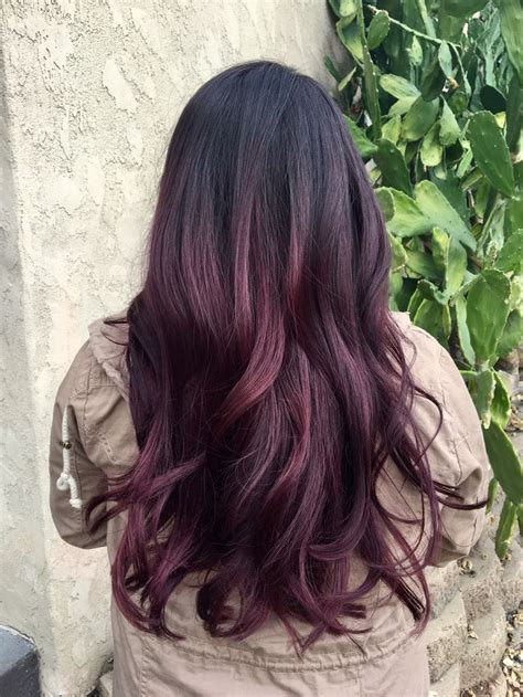 eggplant color hair best 25 eggplant hair colors ideas on