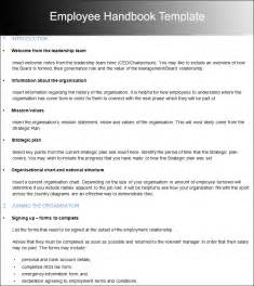 employee handbook template for small business microsoft word handbook template