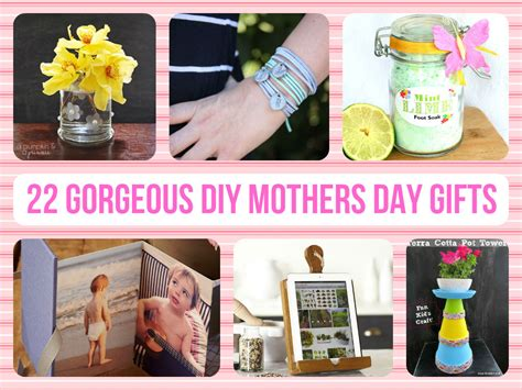 Mothers Day Handmade Gifts - 22 gorgeous diy mothers day gifts