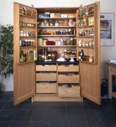 having freestanding pantry for solution to storage