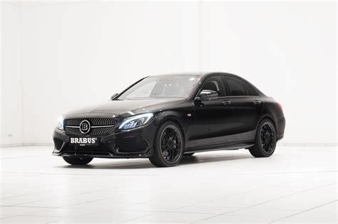 Mercedes C43 Tieferlegung by Official Brabus Mercedes C 450 Amg Sport Gtspirit
