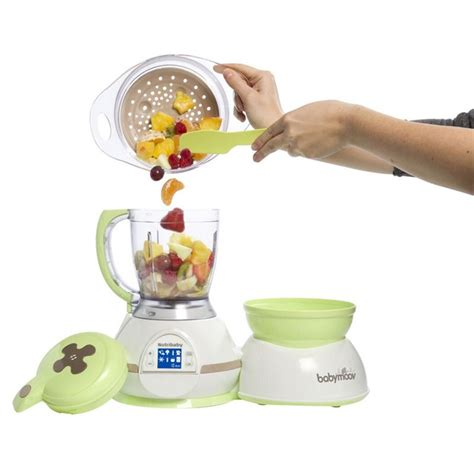 Babymoov Baby Moov Nutribaby Zen Food Processor Sterilizer Blender 1 babymoov nutribaby zen 5in1 food processor elevenia