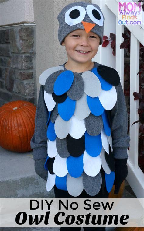 diy owl costume easy   halloween costumes