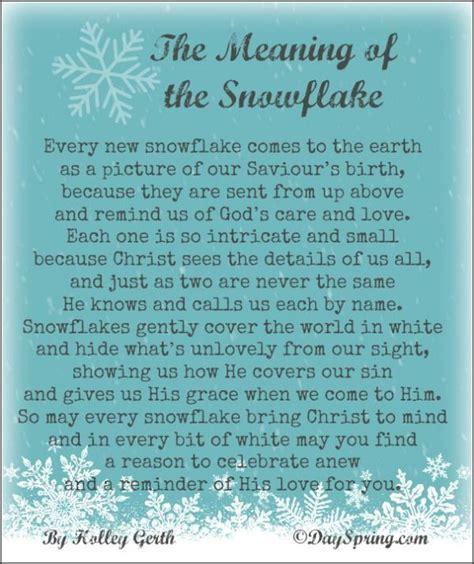 poem   meaning   snowflake   christmas  white  wonderful