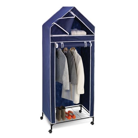 Wardrobe Portable Storage by Honey Can Do 30 In Portable Storage Closet Wardrobes