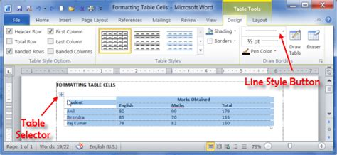 table layout tab word 250 bp dna ladder life technologies