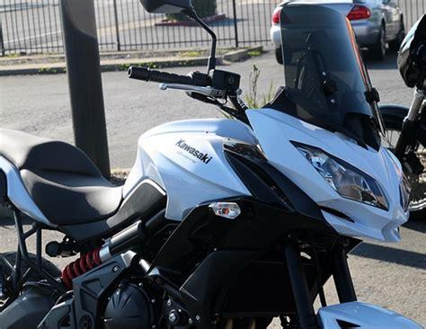 kawasaki versys seat modification new calsci windshield for 2015 versys kawasaki versys forum