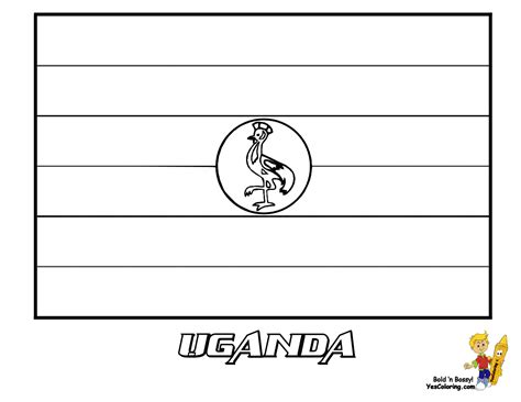 coloring page uganda flag splendid coloring flag of taiwan flags