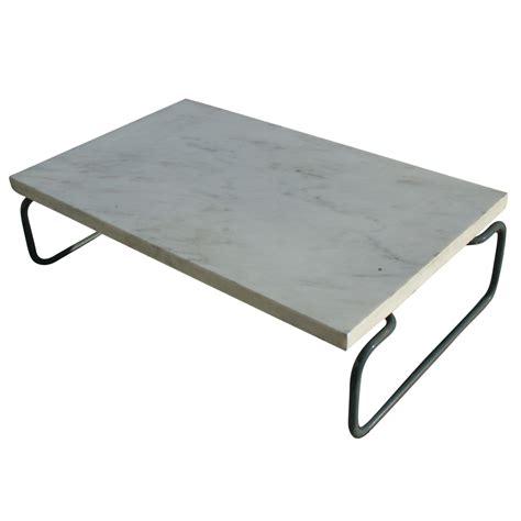vintage cassina marble coffee table tubular base ebay