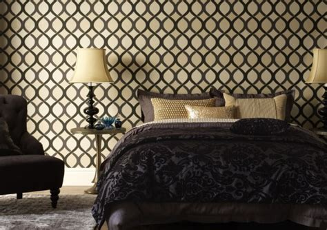 black pattern wallpaper bedroom bedroom wallpaper