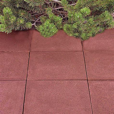 Betonplatten 40x40 Preis by Ehl Gehwegplatte Rot 50 X 50 X 5 Cm Beton Bauhaus