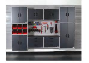 Plastic Container Storage System - garage storage systems with cabinets shelves storage bins and slatwall solutions