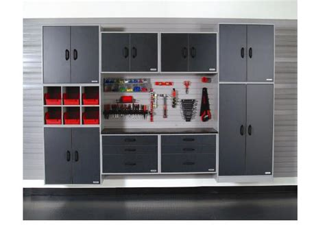 What Is Cabinet System by Garage Storage Systems With Cabinets Shelves Storage Bins