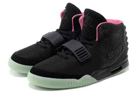 Nike Yeezy 2 nike air yeezy 2 black solar glow in the for sale
