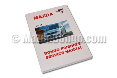 mazda bongo workshop manual mazda bongo diesel workshop manual all models 95 03